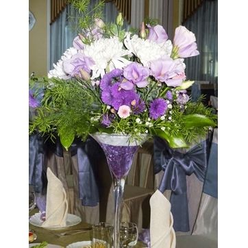 Образец композиции на стол в вазе
