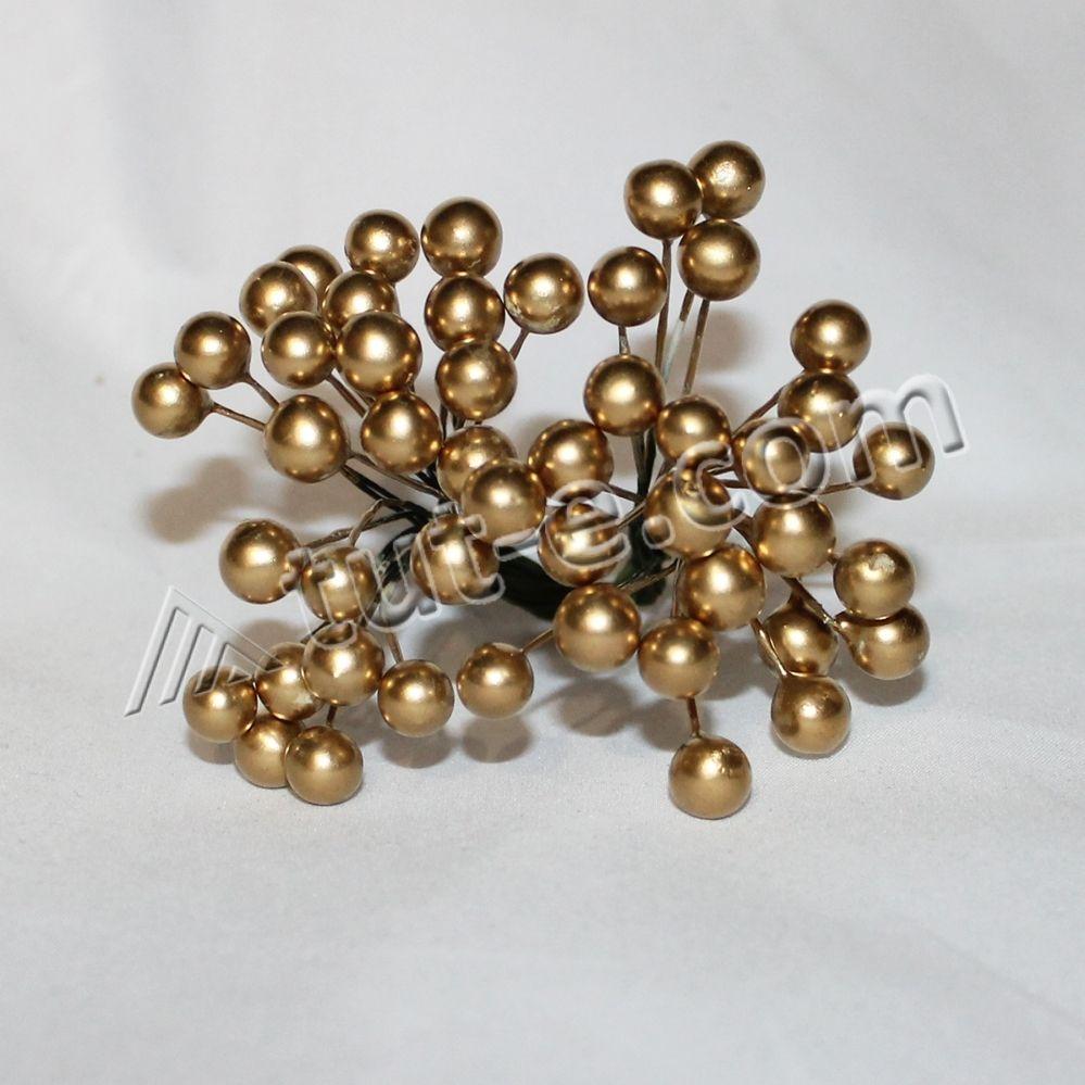 Ягодка декоративная 10мм золотое совершенство