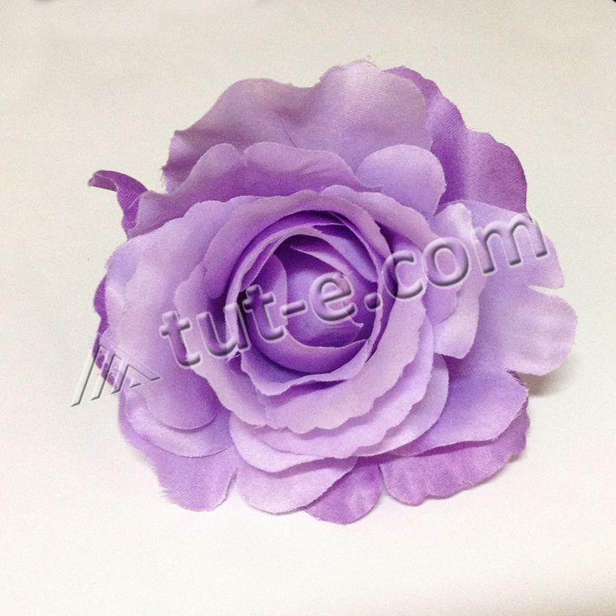 Головка розы сиреневый всплеск