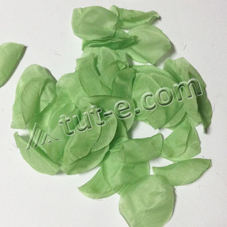 Лепестки зеленые