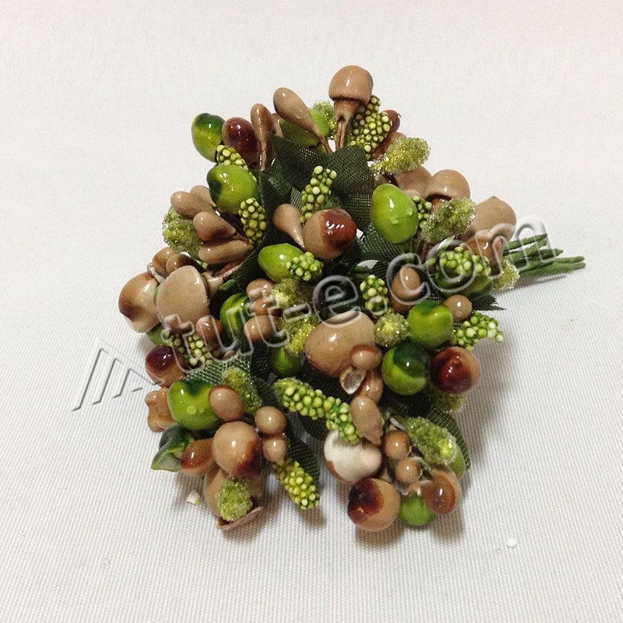 Добавка незабудка ТВ 0408 оливково- зеленая