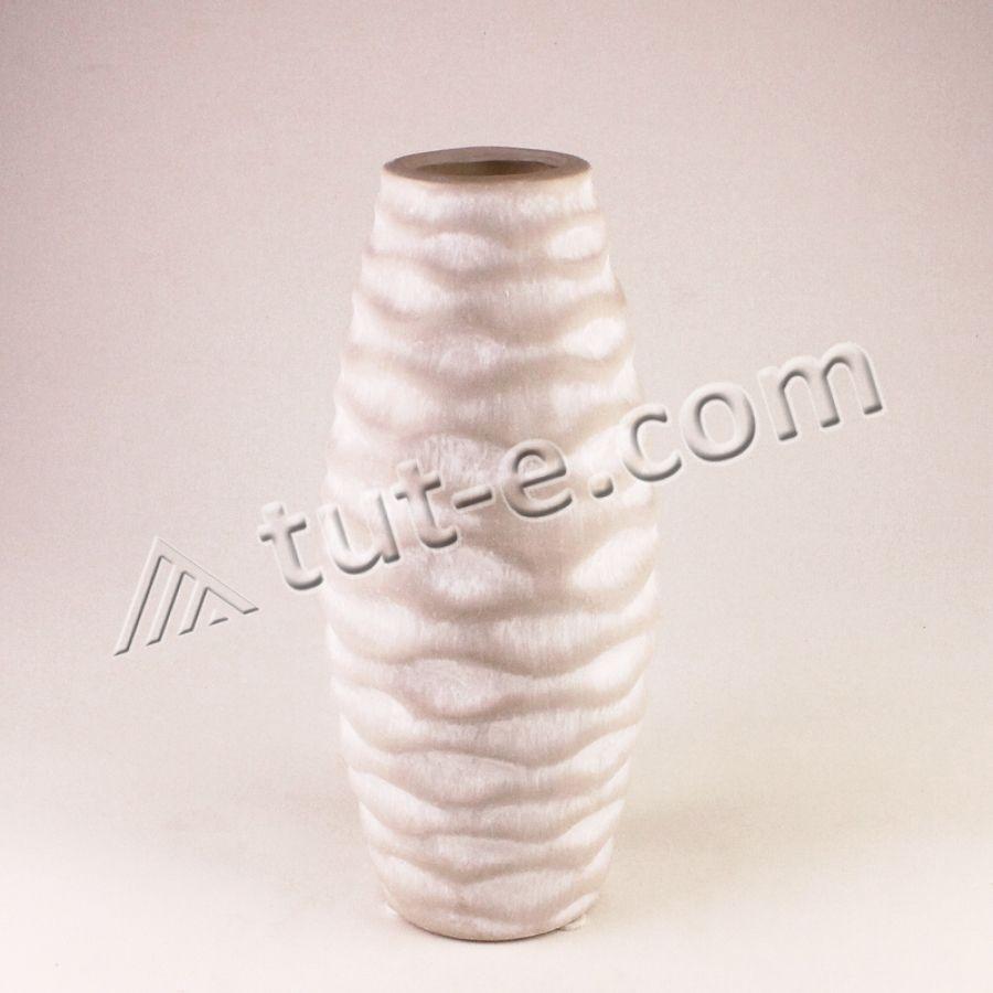 Ваза керамическая серая 21см