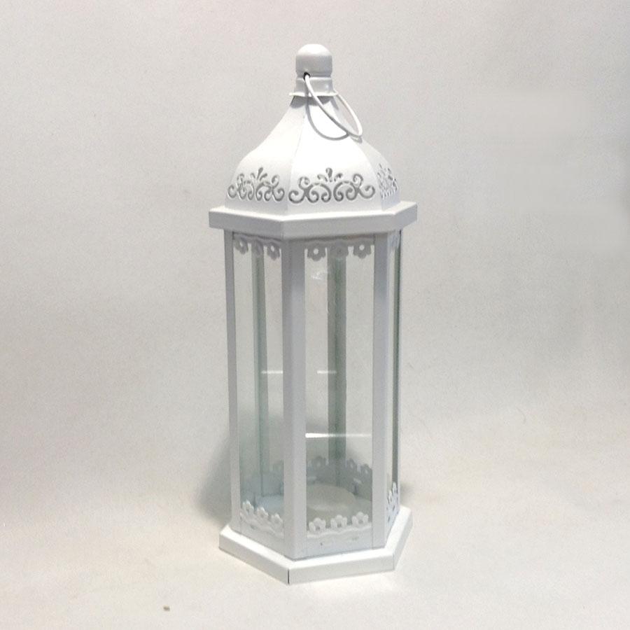 Фонарь декоративный металлический 32х13см