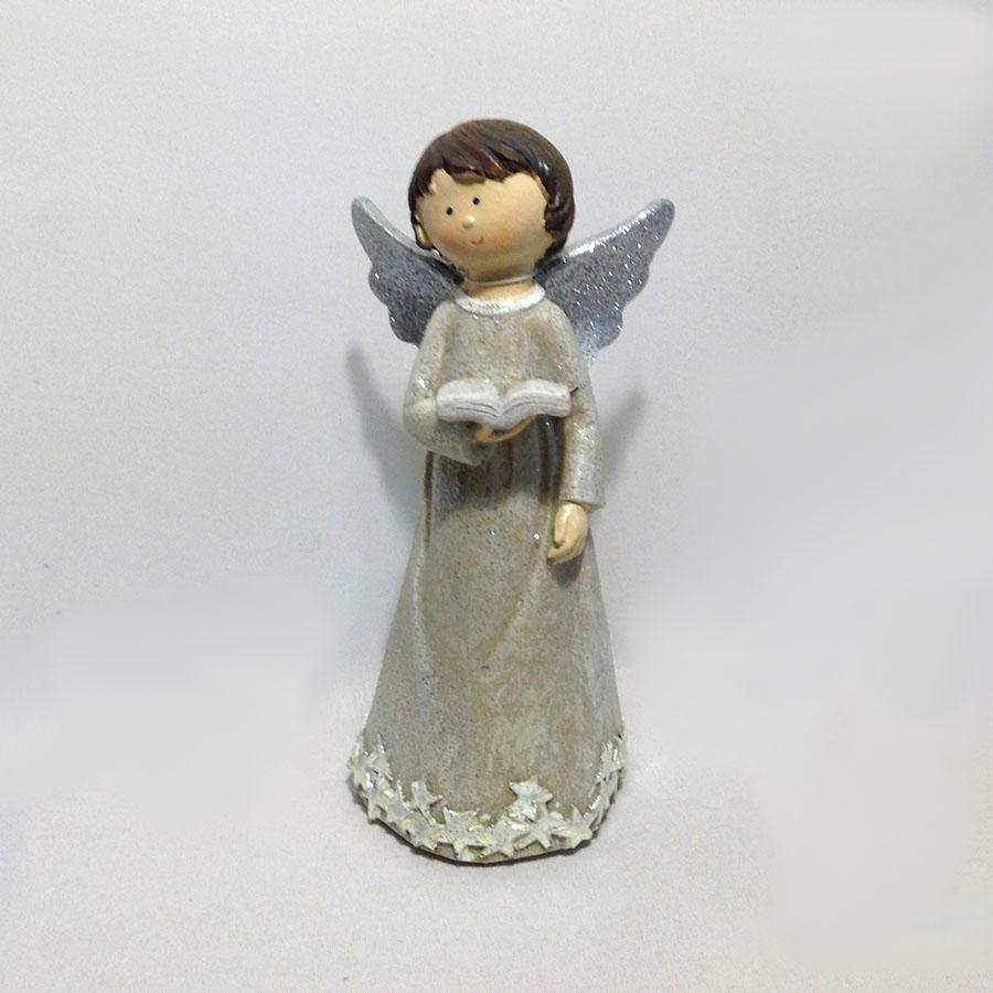 Фигурка ангела с книжкой 18см