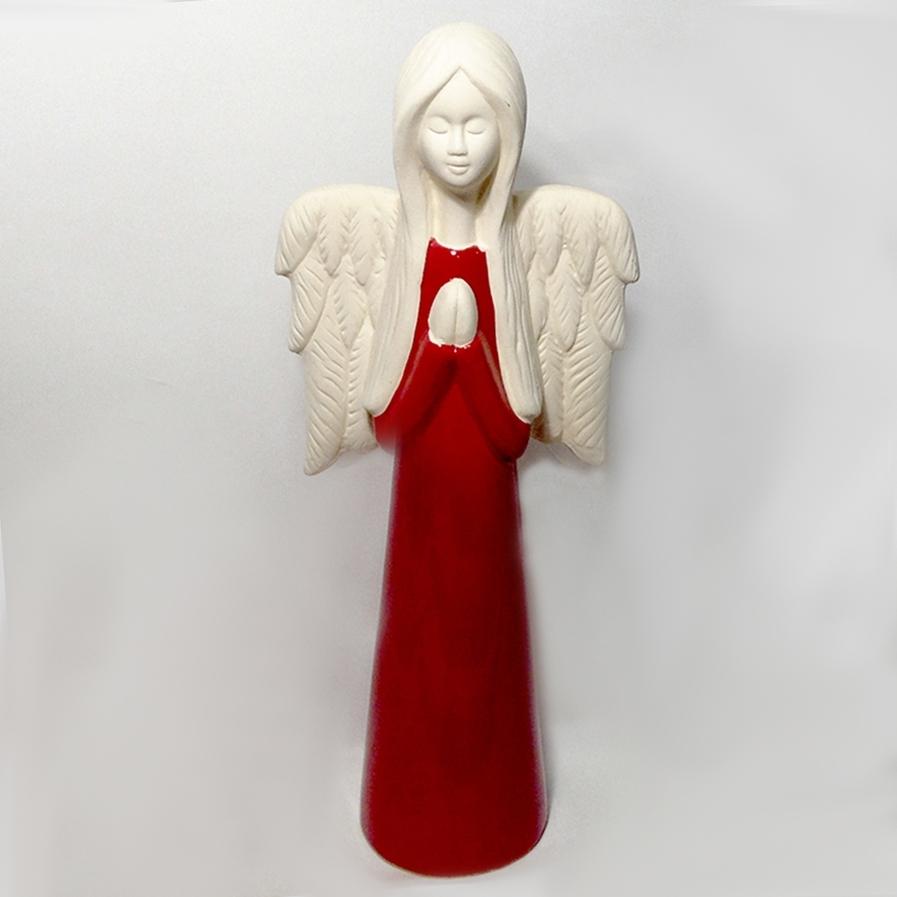 Ангел в красном 46см