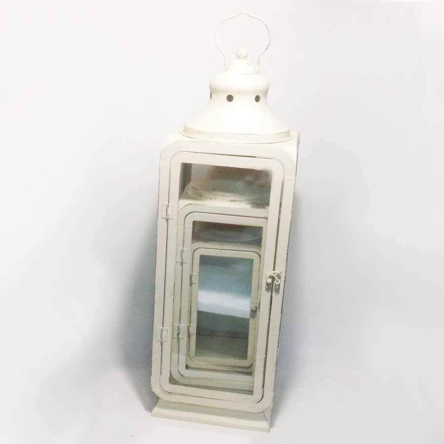 Набор декоративных фонарей металл 3шт