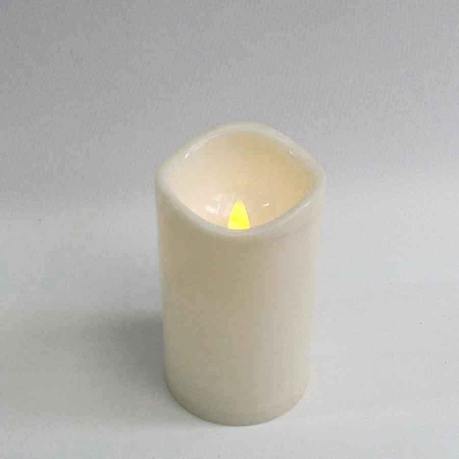 Свеча с led подсветкой 7,5х13см