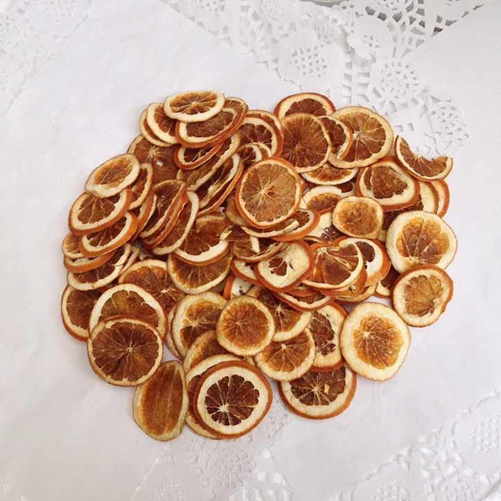 Апельсин натуральный сушеный 200 грамм