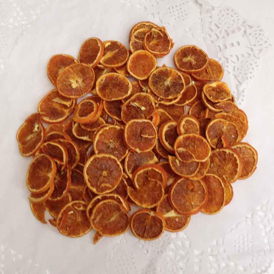 Мандарин натуральный сушеный 200 грамм
