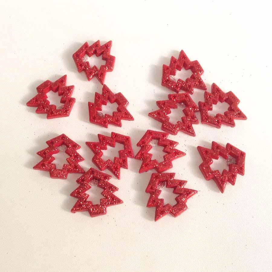 Набор керамических елочек