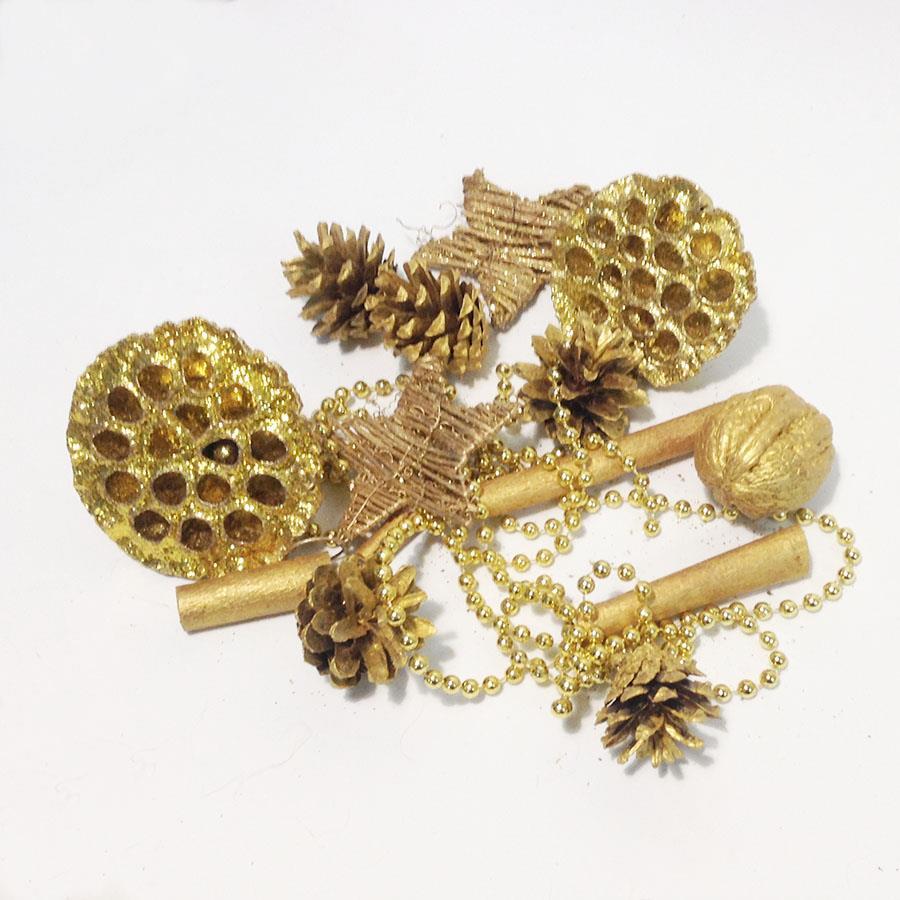 Набор для декора в золоте