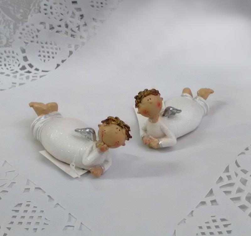Фигурка лежащего ангела 10см