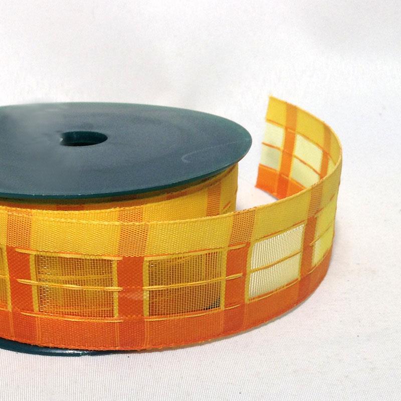 Лента из плотной ткани с сеткой  4см - 1м