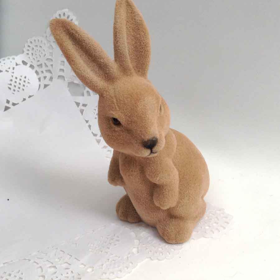 Кролик коричневый 18см