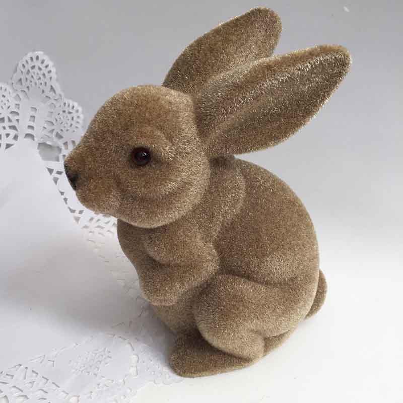Кролик коричневый 20х10 см