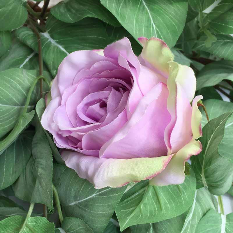 Головка розы КАРДИНАЛ сиреневая светлая