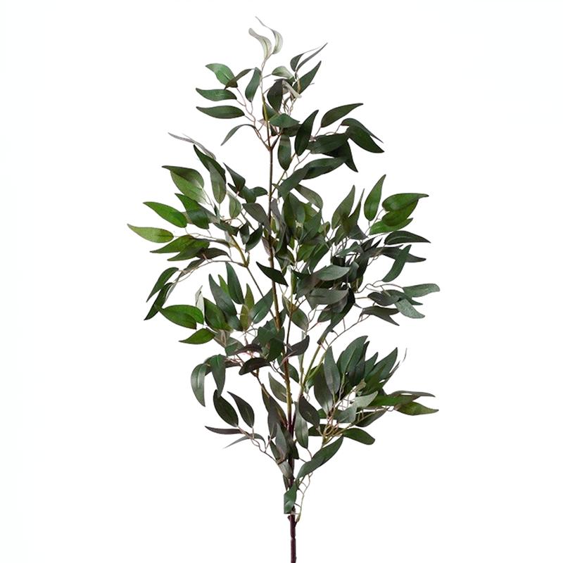 Ветка рускуса зелёная 105 см