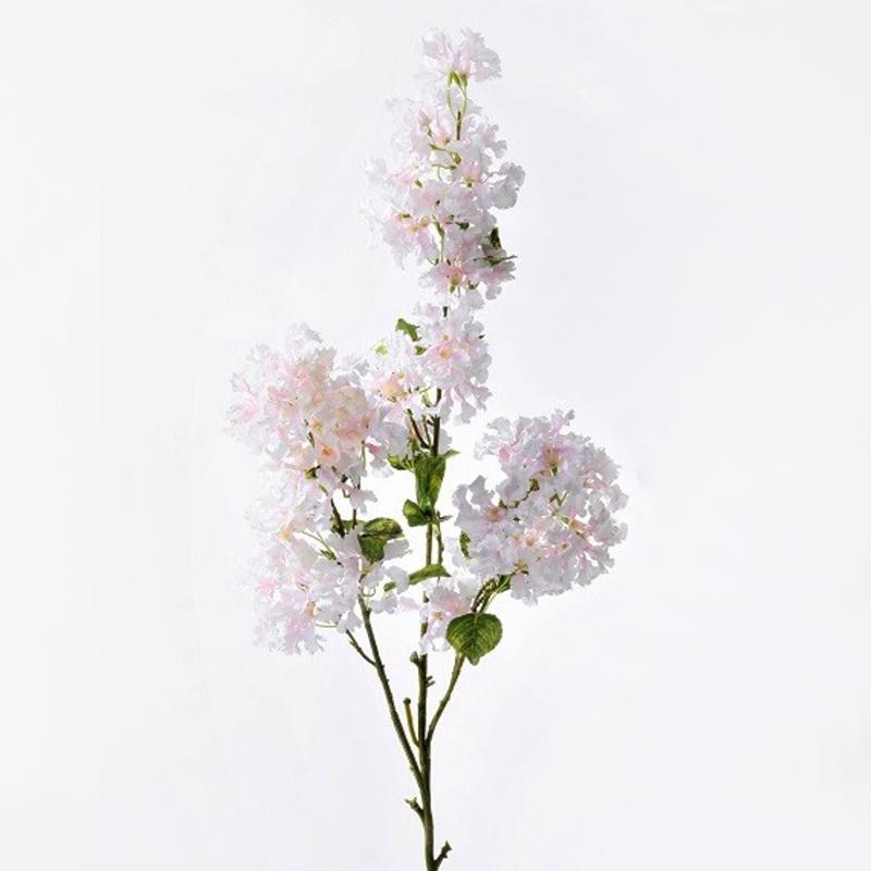 Ветка лагерстремии розовая 100 см