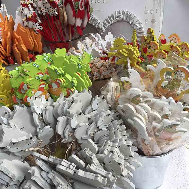Топеры для украшений - декор на палочке